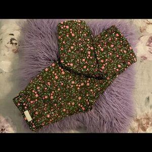 Floral Pattern Jeans 👖